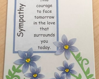 Sympathy, Thinking of You Card