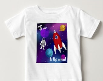 Fly Me To The Moon Baby's T-shirt