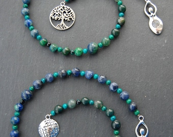 Mother Earth / Mother Nature Pagan Prayer Beads / Witch's Ladder. Pagan Druid Witch Wicca Heathen Dana Danu Jord Nerthus Gaia Goddess