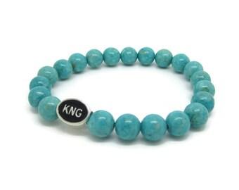 Kingston, KNG, Kingston Jewelry, Kingston Bracelet, Kingston Gifts, Turquoise Riverstone