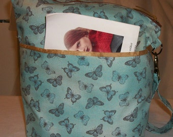 BlueButterflyBags Large Sized project bag