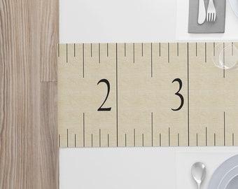 Modern Table Runner | Ruler Table Runner | Modern Table Linen | Ruler Table Linen | Modern Table Decor | Ruler Table Décor | Ruler Runner