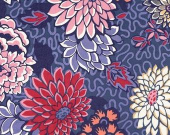 Fabric liberty of London, Meandering Chrysantemums pattern