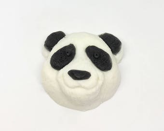 Decorative Happy Panda Bear Soap || Hand Sculpted Soap Design || Housewarming, Get Well Soon, Birthday, Holiday, or Just For Fun Gift