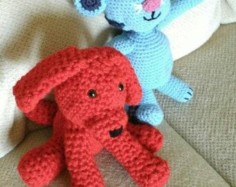 Red Puppy, Blue Tiger