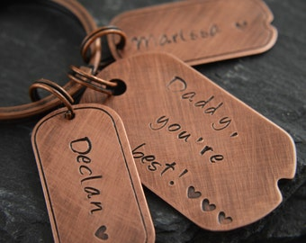 Fathers Day gift, Gifts For Dad, Fathers day, Father gift, daddy gifts, daddy keyring, first fathers day, gift for fathers day, daddy