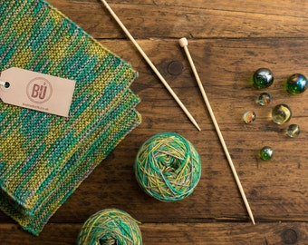 Bamboo Scarf Knitting Kit DIY - Suitable for Beginners