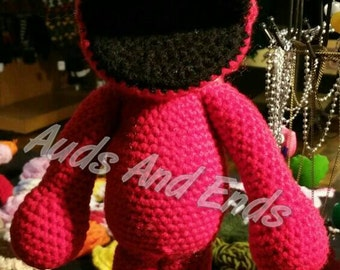 Made to order large S.S. muppet amigurumi