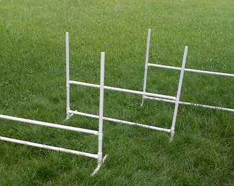 3 Budget Dog Agility Training Jumps with FREE SHIPPING