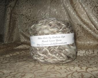 Hand Spun Two-Ply Wool Yarn
