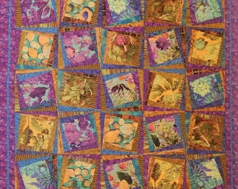 "New Cuts For New Quilts Book - 17 Projects - A Fresh Twist to Quilting With the Popular ""Stack the Deck"" Technique! by Karla Alexander"