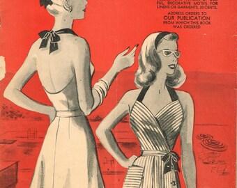 Instant Digital Download Marian Martin Summer 1944 Pattern Book Ebook Catalog Magazine