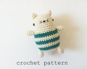 Crochet Pattern - Little Kitten (Amigurmi Cat)