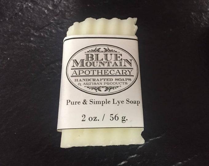 Pure & Simple Handmade Lye Soap