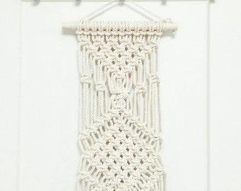Custom- Macrame Art Hanging- Bedroom Wall Accent- Bohemian Decor- Modern Macrame- Wall Accent- Boho Home Decor- BohoChic- Gypsy Mermaid