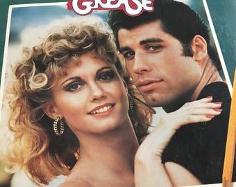 Grease Original Motion Picture Soundtrack Record LP