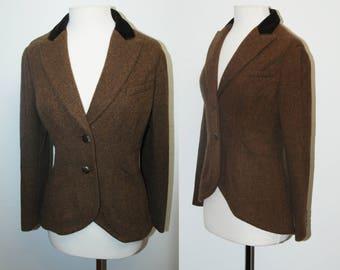 VINTAGE Ralph Lauren Wool Blazer Jacket / Size Medium