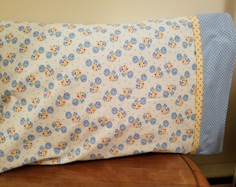 One Pillowcase with Baby Turtles Print