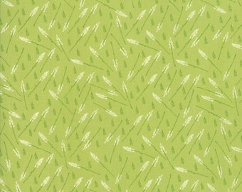 Moda THE FRONT PORCH Quilt Fabric 1/2 Yard By Sherri & Chelsi - Pistachio 37543 14