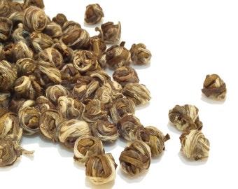 Green Loose Leaf Tea Jasmine Dragon Tears/Pearls Various Size Options FAST & FREE UK Post