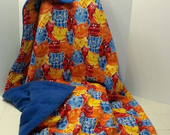 Weighted Sensory Blankets for Kids,  Made in Canada, Machine washable/Reversible/non toxic, Facebook: Nancy Sews Canada