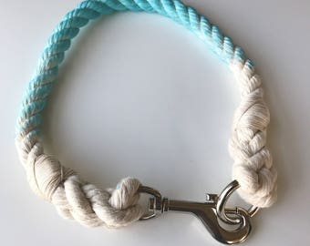 Cotton Rope Clasp Dog Collar