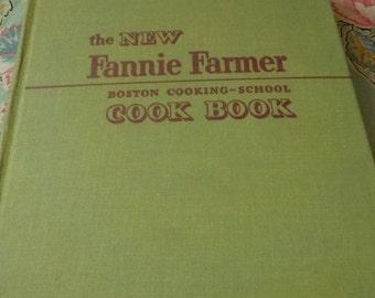 Fanny Farmer Boston Cooking - School Cook Book, Ninth Addition