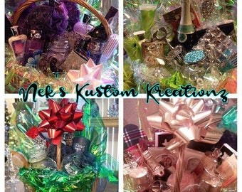 Custom Fragrance Gift Basket