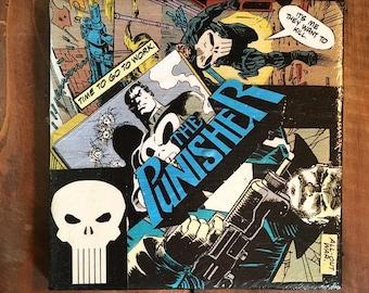 Punisher Comic Drink Coaster