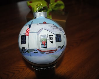 New Custom Childhood Memories Of Your Old House Ornament --   sold