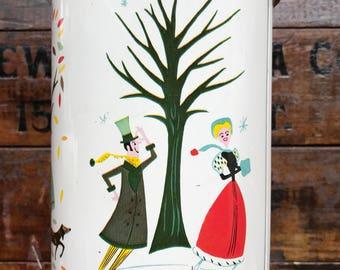 The Four Seasons of Romance Fanny Farmer Candy Tin ~ Vintage