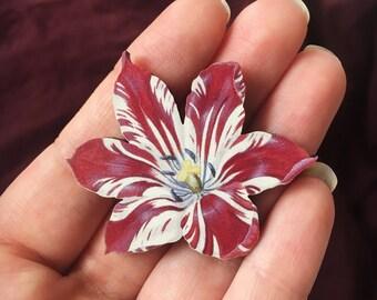 Dutch Tulip Brooch