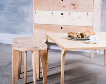 EQUALIFY customized handmade plywood stool / scandinavian design // original gifts / auxiliary seat / kids scandi interior