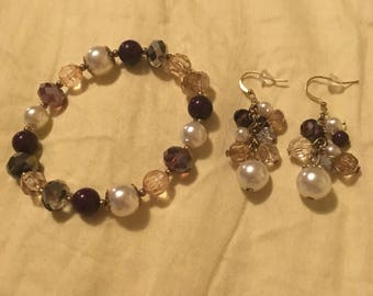 Mother's Day Bracelet and Earrings
