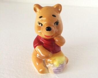 Vintage Walt Disney Productions Winnie the Pooh Figurine Made in Japan