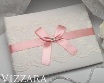 Guests books Blush wedding Unique wedding guest books Blush pink wedding Elegant wedding guest books Blush weddings