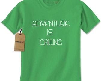 Adventure Is Calling Mens T-shirt