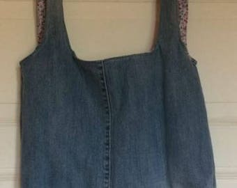 Jeans hand bag