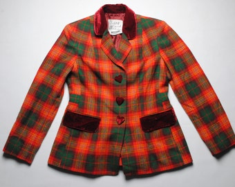 authentic Moschino Cheap and Chic wool blazer Jacket SIZE 40 made in Italy