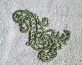 Green Applique
