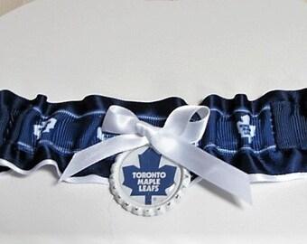 Toronto Maple Leafs jarretière de mariée
