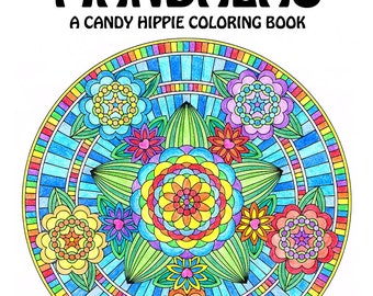 Adult Coloring Book Fantasy Forest Mandalas printable