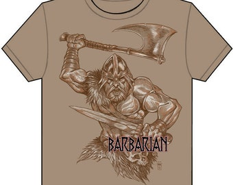 Classic Classes Barbarian T-Shirt