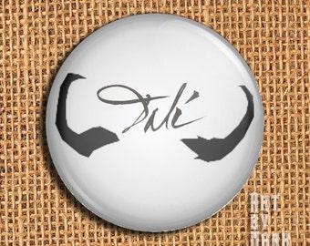 Dali Mustache - 1.25 inch - Pinback Button