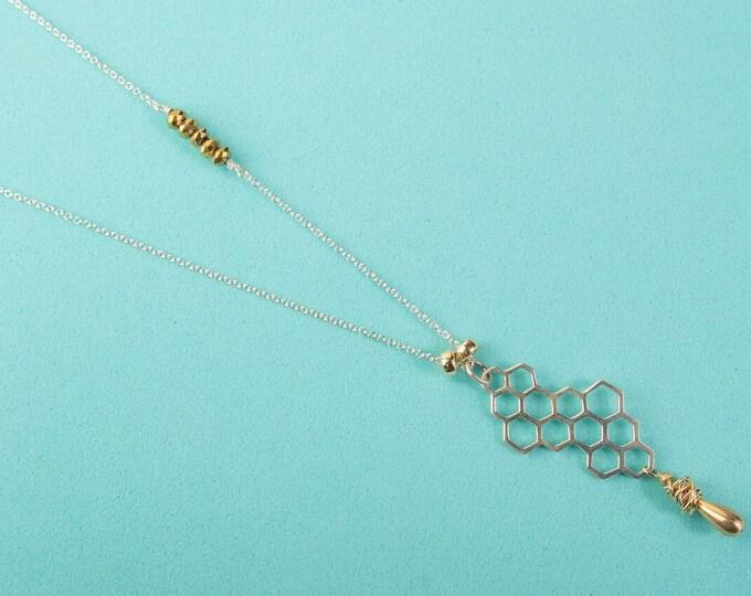 Hive Long Necklace