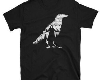 The Crow Halloween scary t-shirt