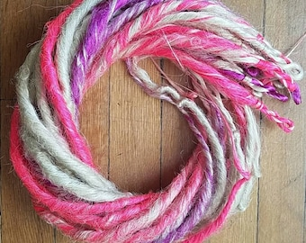 Unicorn Dreads Set Platinum/Pink/Purple