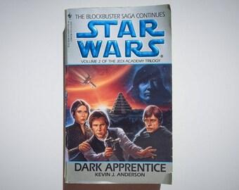 Star Wars Volume 2 of the Jedi Academy Trilogy Dark Apprentice by Kevin J. Anderson Vintage Paperback 1994
