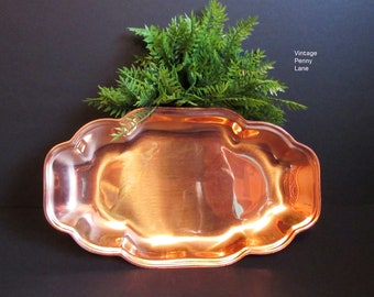 Vintage Copper Tray by COPPERCRAFT GUILD, CopperTray