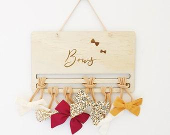 BOW HOLDER - hair clips, bows, hair clip hangers, girls, hair accessories, hair clip holder, daughter, bow storage
